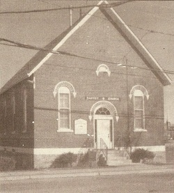 Campbellford Baptist Church Building 1884-1905 -Steeple removed