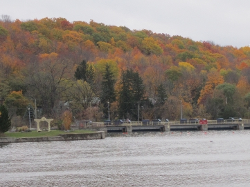 A view of the Trent River, Campbellford